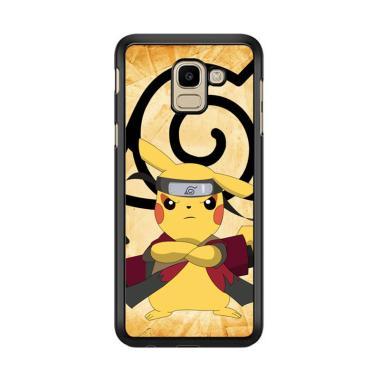 Flazzstore Pikachu Ninja C0405 Prem ... or Samsung Galaxy J6 2018