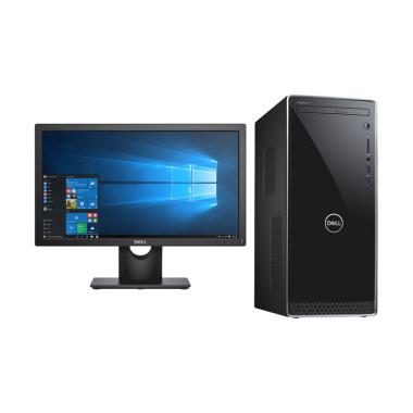DELL Inspiron 3670 MT Dekstop PC -  ... u] + Dell Monitor E2016HV