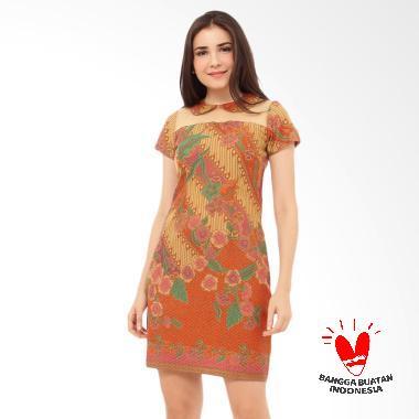 Benangsari Nirwana Batik Dress Wanita Coklat