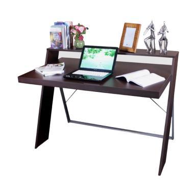 Kana Furniture Desk Bella Meja Belajar - Brown