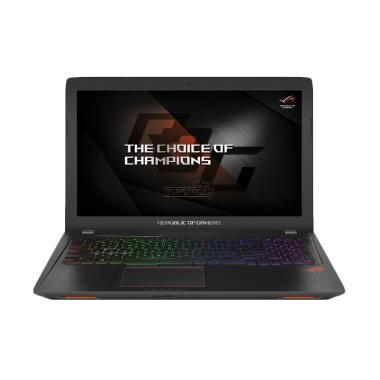 ASUS ROG GL553VE-7700HQ Laptop - Black [i7-7700HQ/16GB/256GB SSD + 1TB/GTX1050Ti-4GB/15.6 Inch FHD/Win 10]