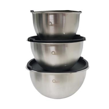 Oxone OX-048 Stainless Steel Mixing Bowl [3 pcs]