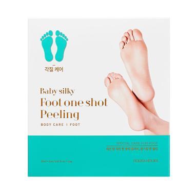 Holika Holika Baby Silky Foot One Shot Peeling Perawatan Kaki