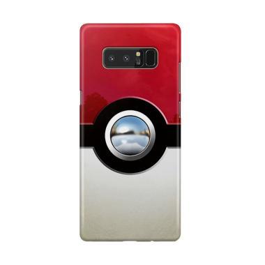 harga Indocustomcase Retro Chrome Pokeball Cover Hardcase Casing for Samsung Galaxy Note 8 Blibli.com