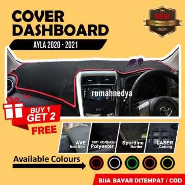 Cover Dasboard Mobil Daihatsu Ayla 2020 Aksesoris Alas Dasbor Karpet Pelindung Dashboard Krem