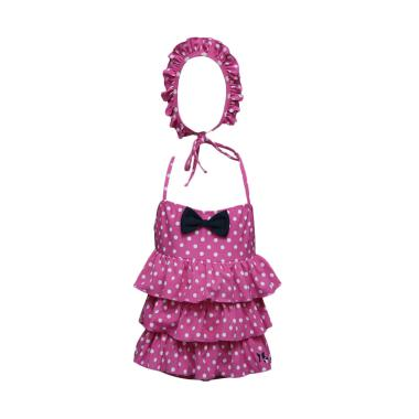 Lasona SW-H3159J-L0588  Baju Renang Anak Perempuan - Violet