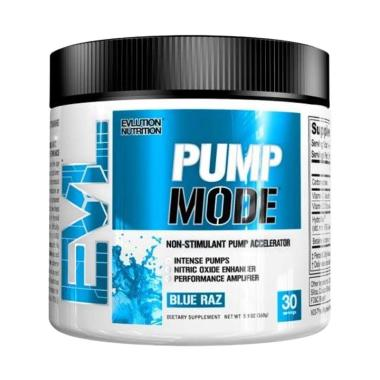 Evlution Nutrition Evl Pump Mode 30 Serving Preworkout Non Stim Fitnes Suplemen