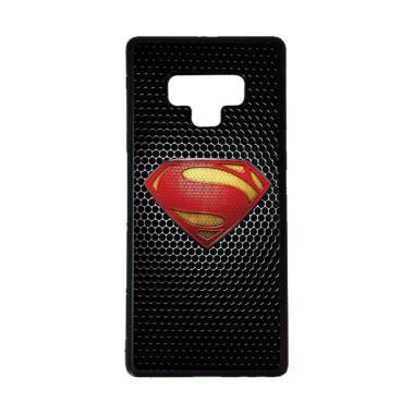 harga CARSTENEZIO Motif Superhero Superman 14 Softcase Casing for Samsung Galaxy Note 9 - Hitam Blibli.com