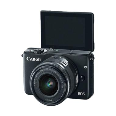 Canon EOS M10 Kamera Mirrorless - Black #01 BLACK