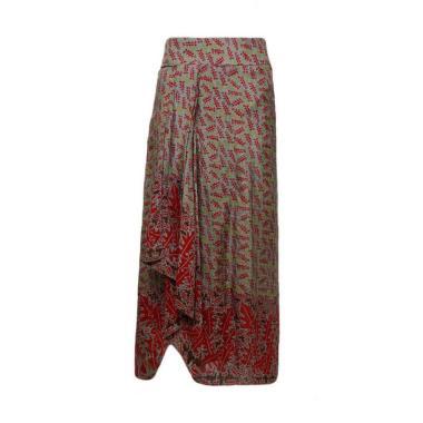 Poppy Dharsono 060 Rok Batik Wanita Multicolor
