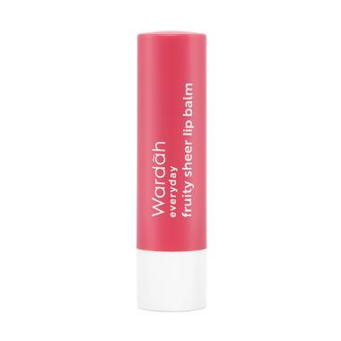 Wardah Everyday Fruity Sheer Lip Balm - Strawberry ...