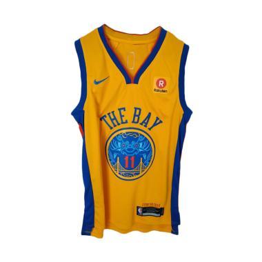 NIKE NBA Basketball Jersey Pria - Golden Yellow f0987644a