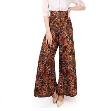 Miracle Shop Celana Kulot Batik Feby Long Pants Wanita