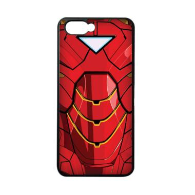 harga CARSTENEZIO Motif Superhero Ironman 14 Softcase Casing for Oppo A3S - Hitam Black Blibli.com