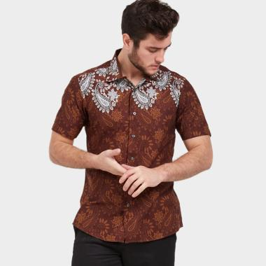 Kemeja Pria Slim Fit Terbaru di Kategori Baju Batik Etnik Pria ... f2c549a9f0