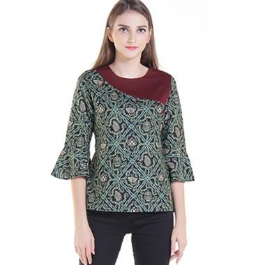 Rianty Sania Blouse Batik Wanita. Rp 246.950 Rp 449.000 45% OFF · Terbaru.  Rianty Neva Blouse Batik Wanita 1fadadba91
