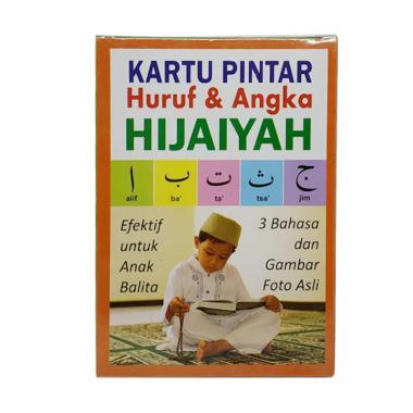 Flashcard Pintar Huruf & Angka Hijaiyah Kartu