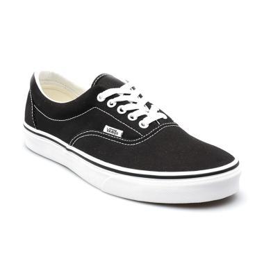 8d34211f Vans UA Era Sepatu Sneaker Unisex - Black [VN000EWZBLK]