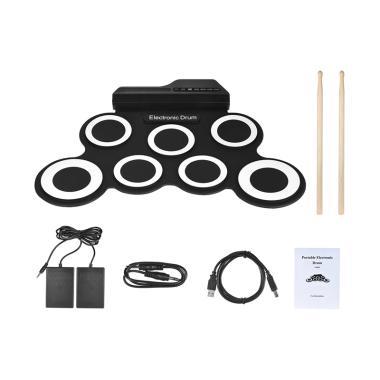 harga OEM Digital Drum Roll Up Electronic Drum Blibli.com