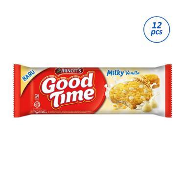 harga Good Time Milky Vanilla Cookies [16 g/12 pcs] Blibli.com