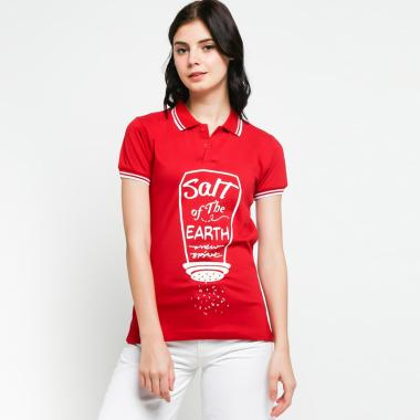 Jual Baju Polo Shirt Wanita Baru 2019 - Nyaman   Sporty  10032bb36e