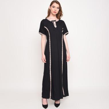 Batik Huza Kasmita Daster Wanita - Black