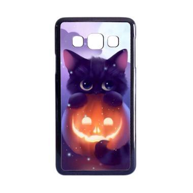 harga Acc Hp Halloween Cat L0018 Custom Casing for Samsung Galaxy A3 2015 Blibli.com