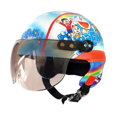 Cicimonmon Special Kids Doraemon Helm Anak