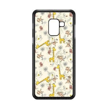 harga Acc HpGiraffe And Monkey Background L0149A Custome Casing for Samsung Galaxy A8 Plus 2018 Blibli.com
