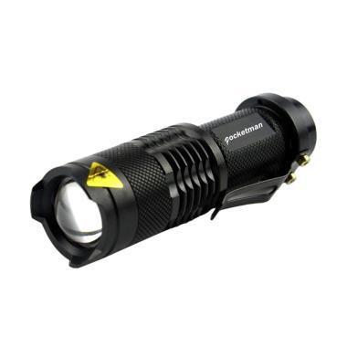 Pocketman Mini LED Senter [2000 Lumens/ Waterproof]