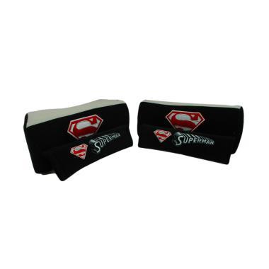 harga Sukses Motor Superman 2in1 Set Aksesoris Interior Mobil [Bantal Mobil/ Sarung Seat Belt] Black Blibli.com