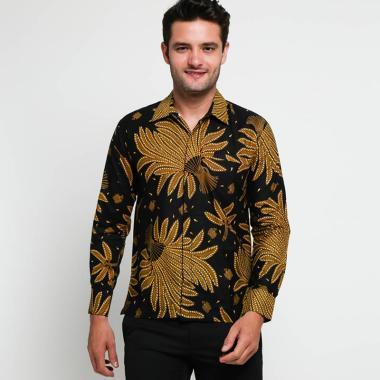 Adiwangsa Modern Slim Fit Kemeja Batik Lengan Panjang Pria 305