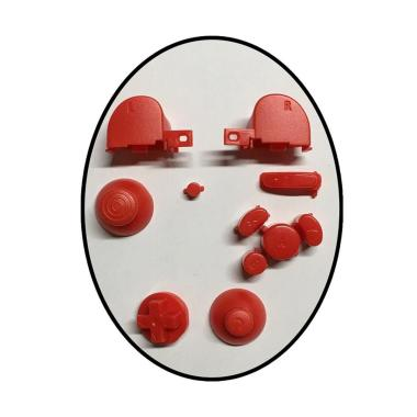 harga Bluelans Button Set with Thumbsticks for Nintendo Gamecube Controller Solid Color Red Blibli.com