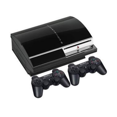 harga SONY Playstation 3 Fat CFW 4.84 Game Console [HDD 250GB] + Free 2 Stik Wireless + Full Game Blibli.com
