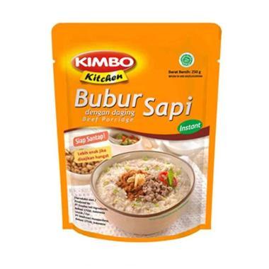 harga Kimbo Kitchen Bubur Sapi [250 gr] Blibli.com