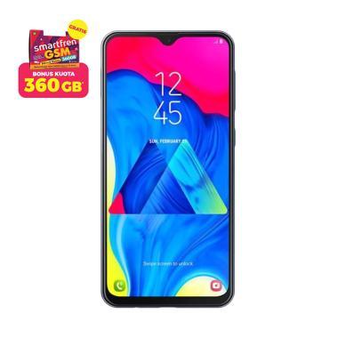 Samsung Galaxy M10 Smartphone [16 GB/ 2 GB/ A] + Stater Pack SP Bosku Smartfren 360 GB Charcoal Black