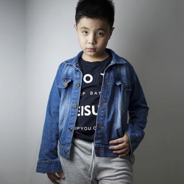 harga Jfashion Shens Jaket Jeans Denim Anak XL Navy Blue Blibli.com
