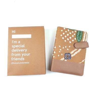 harga Bukuku Batik A5 Creamy Latte Buku Agenda Blibli.com