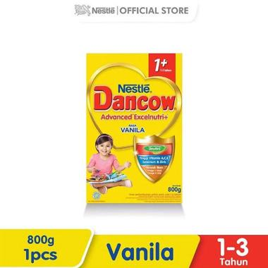 WHS - SMG/JOG/SOLO - Dancow Vanila 1+ Susu Formula [800 g]