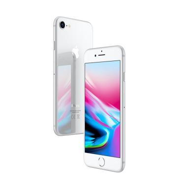 Apple Iphone 8 (Silver, 128 GB) (Refurbish)