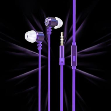 harga Foomee QA11 Premium Bass Wired Headset - Purple Blibli.com