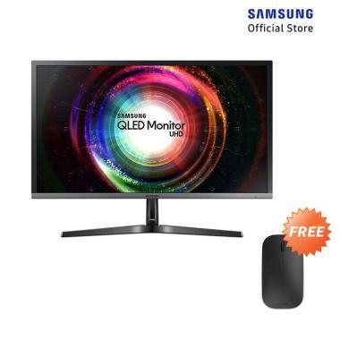 harga Samsung LU28H750UQEXXD UHD Monitor with Quantum Dot [28 inch] + Free Microsoft Designer Bluetooth Mouse Blibli.com
