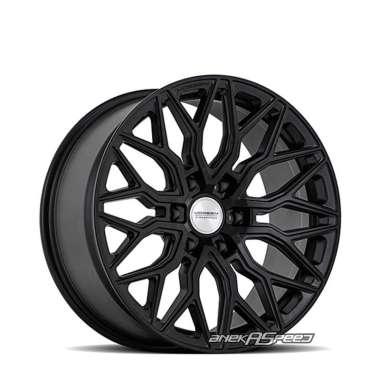 harga Vossen HF6-3 R20x9.5 ET+15 - PCD 6x139.7 Satin Black | Velg Mobil ORI