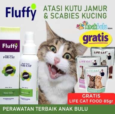 harga Obat Kutu Kucing Fluffy Cat   Pembasmi Kutu Pasir Pinjal Tumo Aman Ampuh   Aman Untuk Kitten dan Kucing Hamil   Gratis Cat Food Blibli.com