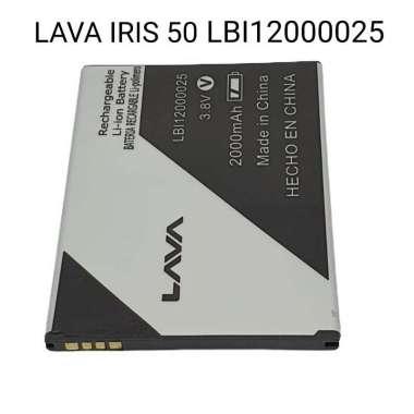harga Baterai Batre Handphone Lava Iris 50 Batere Hp Lava Iris50 LBI12000025 Blibli.com
