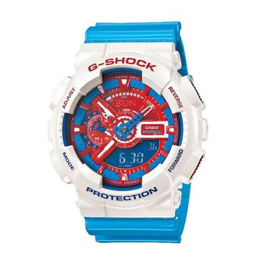 Casio G-Shock GA-110AC-7A Original Jam Tangan Pria - Putih
