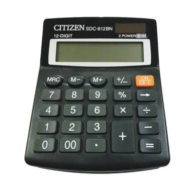 Citizen SDC-812BN Kalkulator [12 Digit]