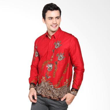 Jogja Batik Tama Man Shirt - Merah