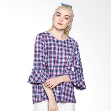 Rodeo 817.0205.RED Blouse Shirt Motif - Red