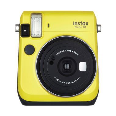 Fujifilm Instax Mini 70 Kamera Pocket - Yellow
